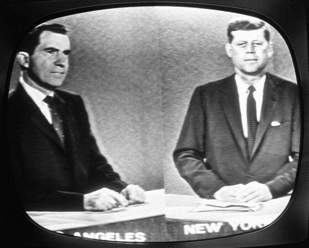 nixon kennedy debate on tv