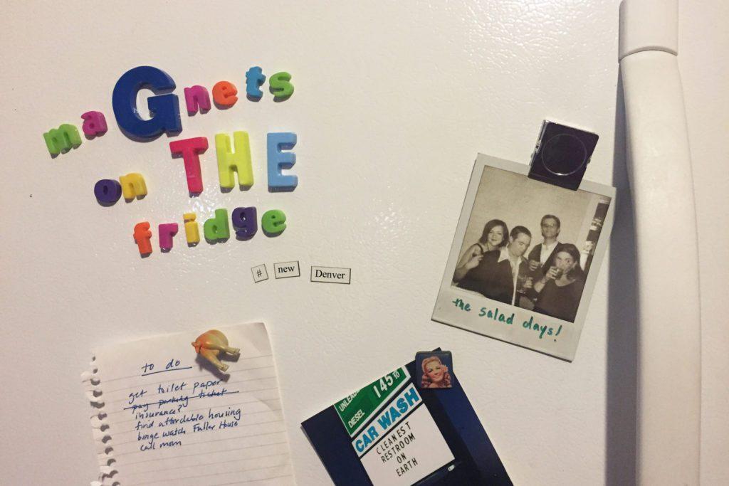 magnets on the fridge newdenver buntport theater